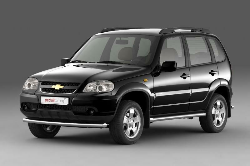 Дизайн Chevrolet Niva