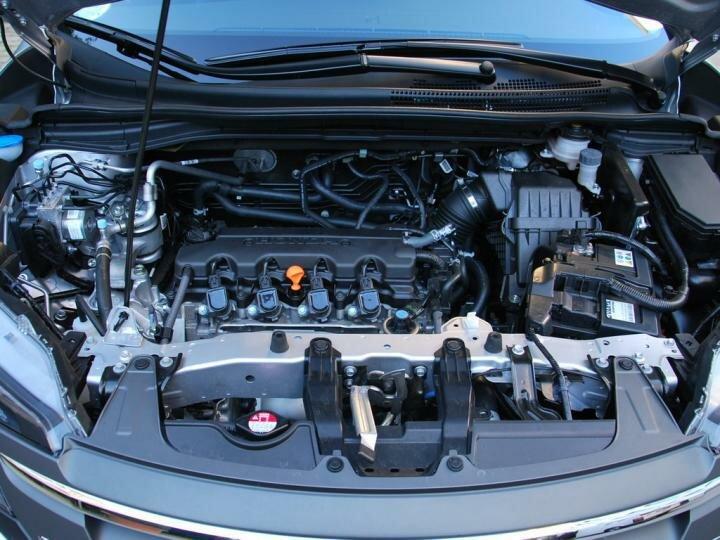 Вот так выглядит мотор Honda CR-V