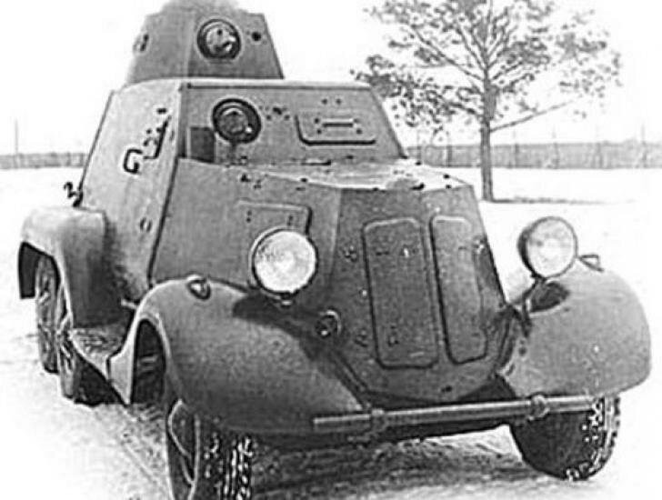 БА 21 на шасси Газ 21 пикап