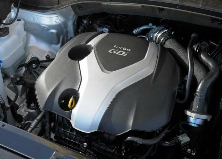 Хендай Санта Фе 2013 двигатель
