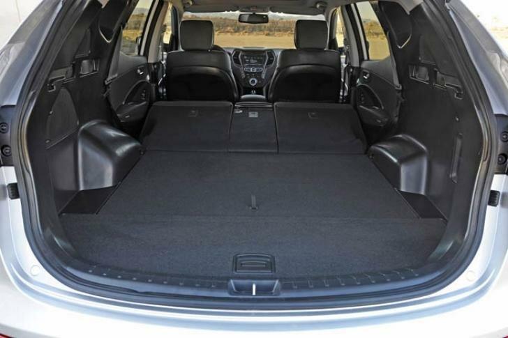 Хендай Санта Фе 2013 багажник