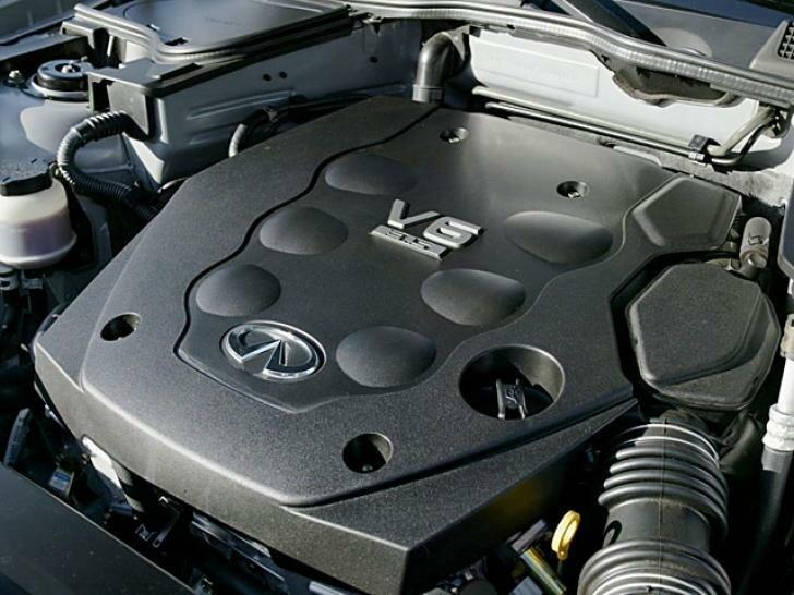 Инфинити fx35 двигатель