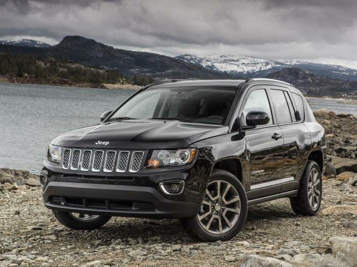 Jeep Compass рестайлинг 2013