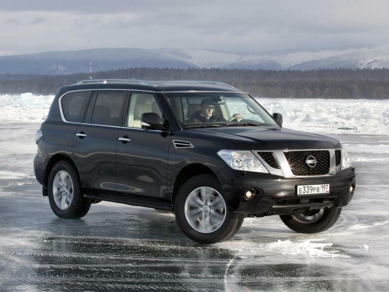 Внедорожник Nissan Patrol