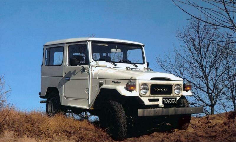 Toyota Land Cruiser 20