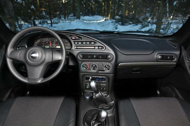 Chevrolet NIVA салон