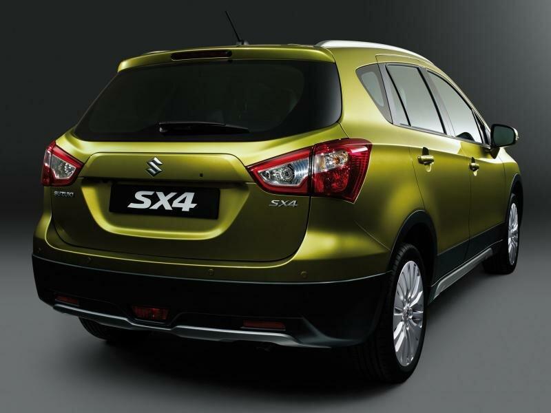 Кроссовер Suzuki SX4