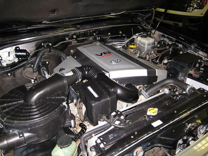 Тойота Ленд Крузер 100 двигатель