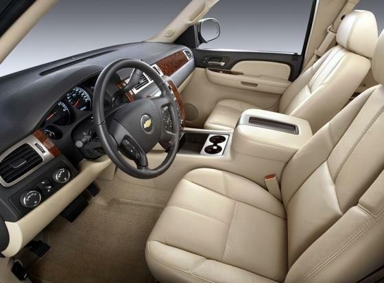 Салон Chevrolet Silverado