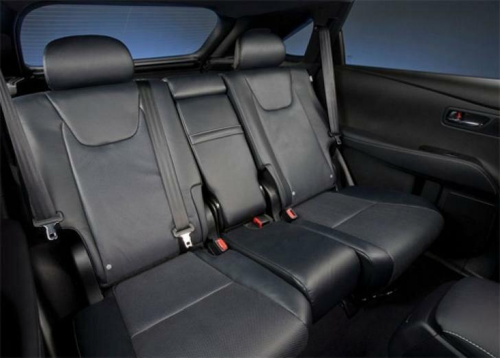 Лексус rx 350 2013 задний ряд сидений