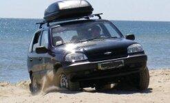 Багажник на Шевроле Нива: установка и эксплуатация