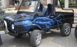 ЛуАЗ 969м тюнинг до туристического внедорожника