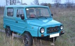 ЛуАЗ 1302 вездеход периода перестройки