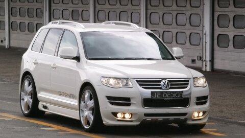 Тюнинг Volkswagen Touareg своими руками