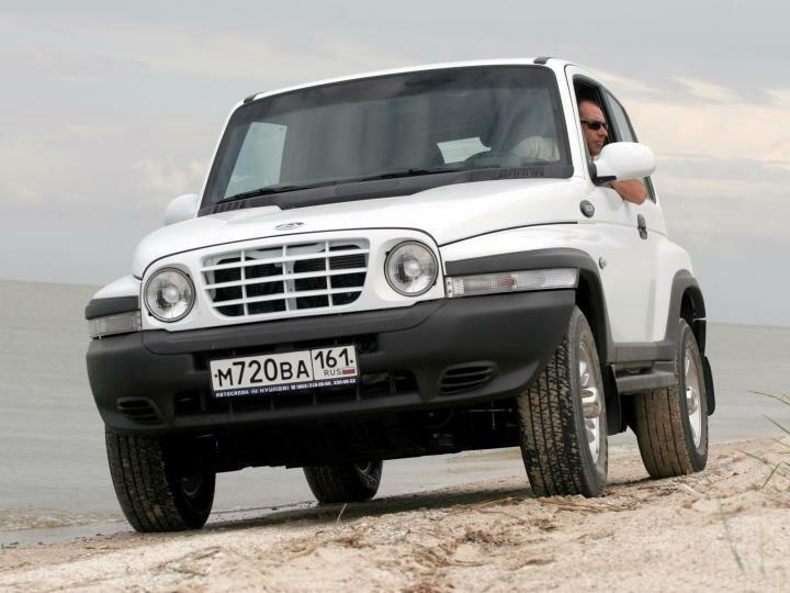 Автомобиль Тагаз Тайгер