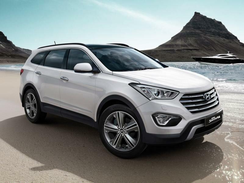 Hyundai Grand Santa Fe семиместный
