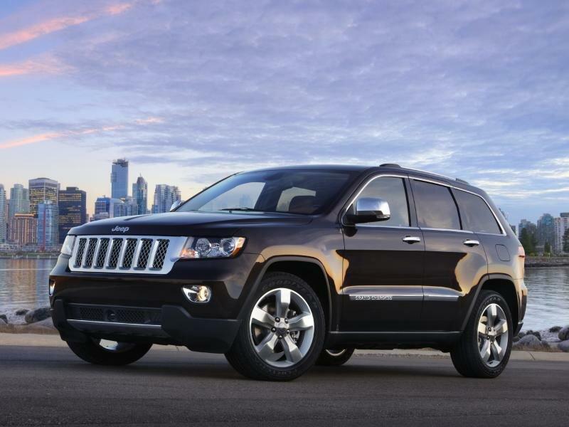 Jeep Grand Cherokee с бензиновым двигателем