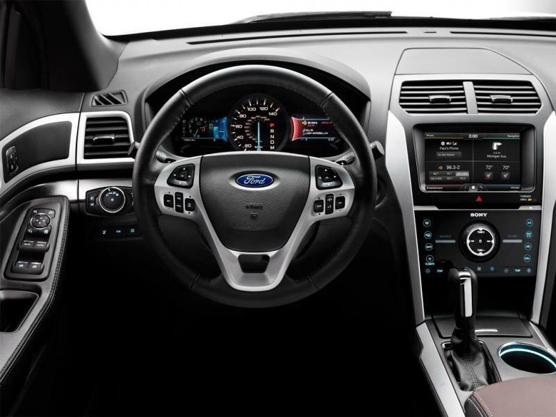 Ford Explorer салон