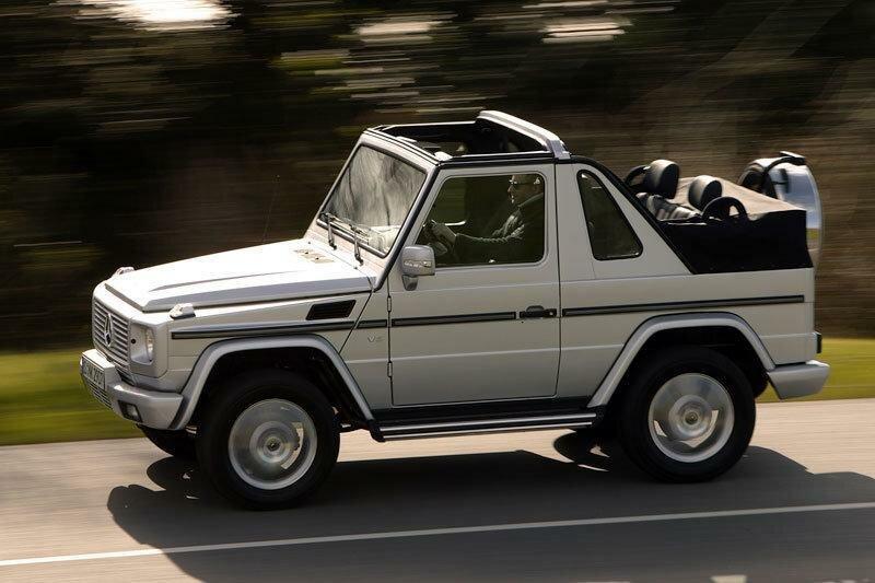 Mercedes-Benz G класс кабриолет