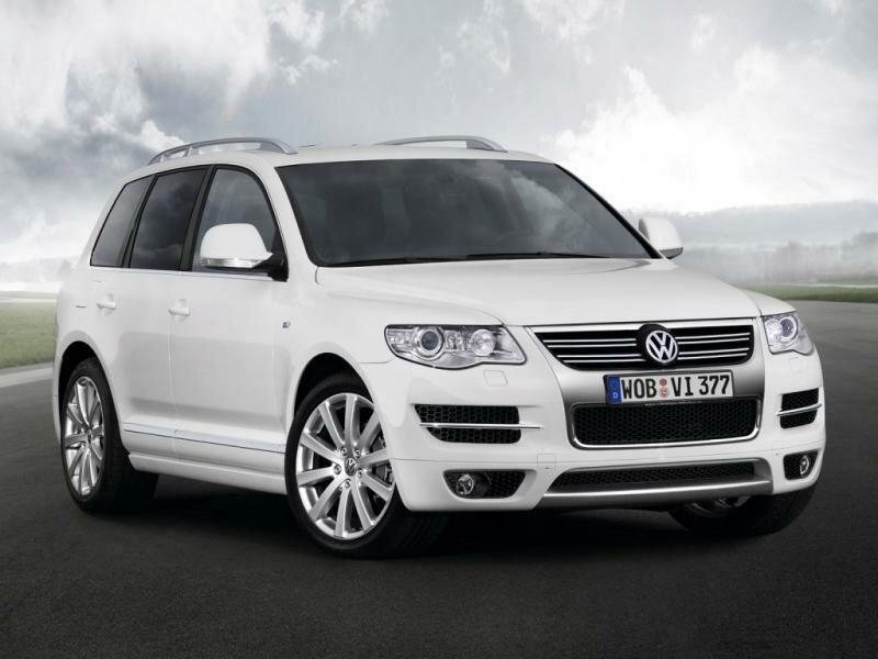 Volkswagen Touareg клиренс