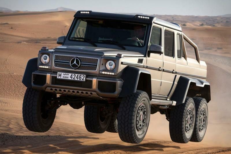 Mercedes-Benz G-klasse 6х6