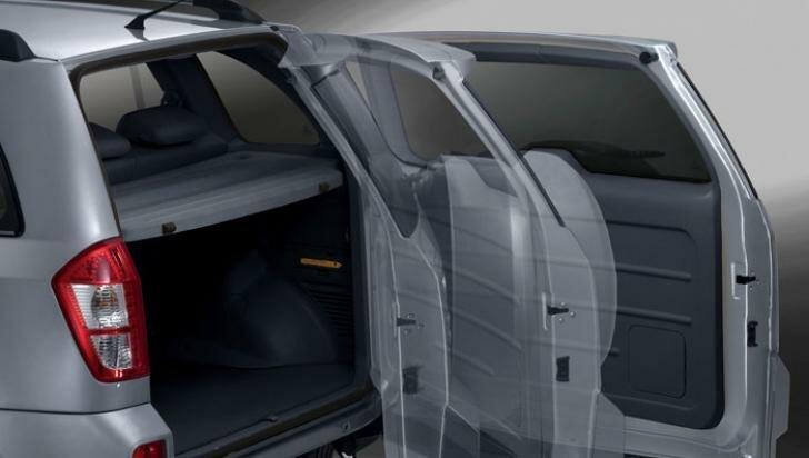 Tingo Vortex дверь багажника